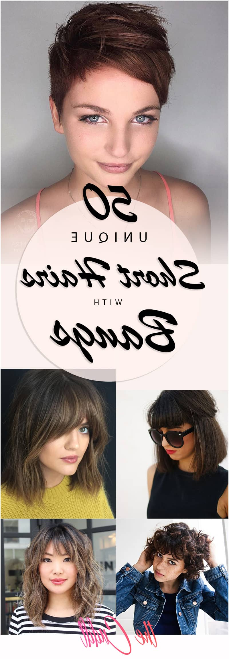 50 Ways To Wear Short Hair With Bangs For A Fresh New Look Throughout Short Haircuts With Wispy Bangs (View 22 of 25)