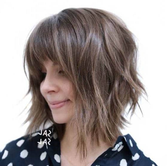 50 Ways To Wear Short Hair With Bangs For A Fresh New Look Within Edgy Pixie Haircuts With Long Angled Layers (View 19 of 25)