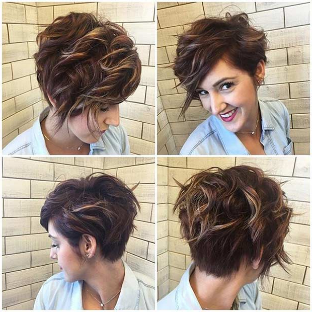 51 Best Short And Long Pixie Cuts We Love For 2018 | Stayglam For Highlighted Pixie Bob Hairstyles With Long Bangs (View 7 of 25)