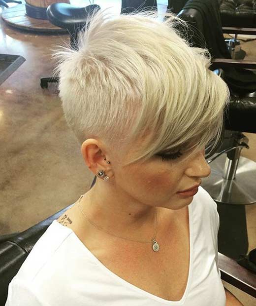 51 Best Short And Long Pixie Cuts We Love For 2018 | Stayglam Inside Highlighted Pixie Bob Hairstyles With Long Bangs (View 17 of 25)