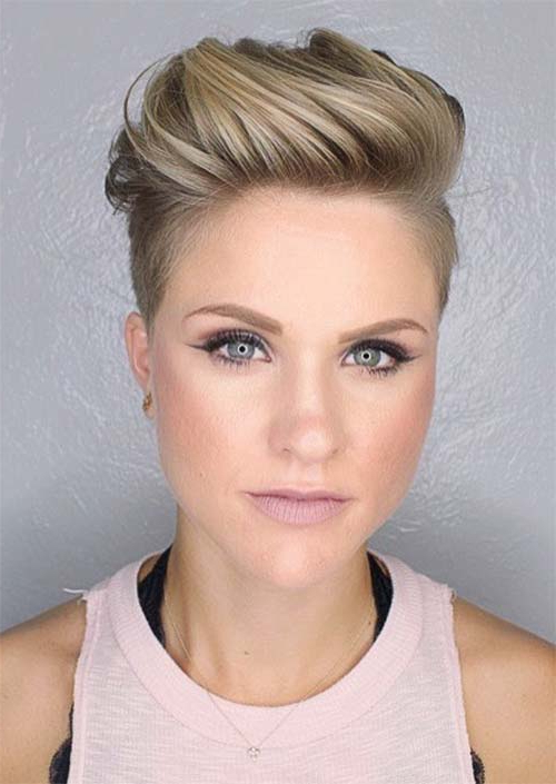 51 Edgy And Rad Short Undercut Hairstyles For Women – Glowsly With Regard To Layered Pixie Hairstyles With Nape Undercut (View 22 of 25)