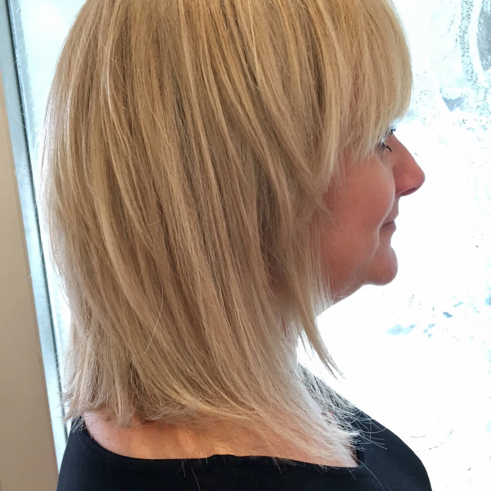 51 Stunning Medium Layered Haircuts (Updated For 2018) In V Shaped Layered Short Haircuts (View 7 of 25)