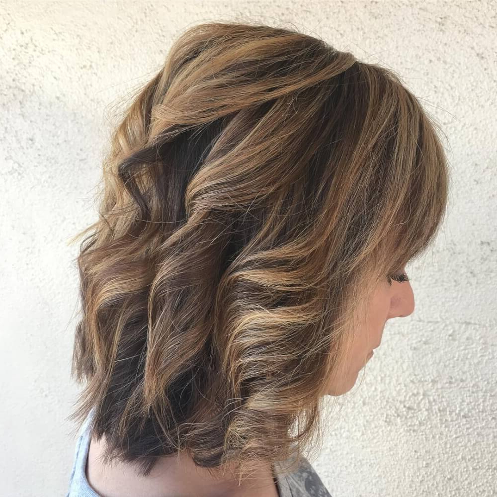 51 Stunning Medium Layered Haircuts (Updated For 2018) Throughout Short To Mid Length Layered Hairstyles (View 17 of 25)