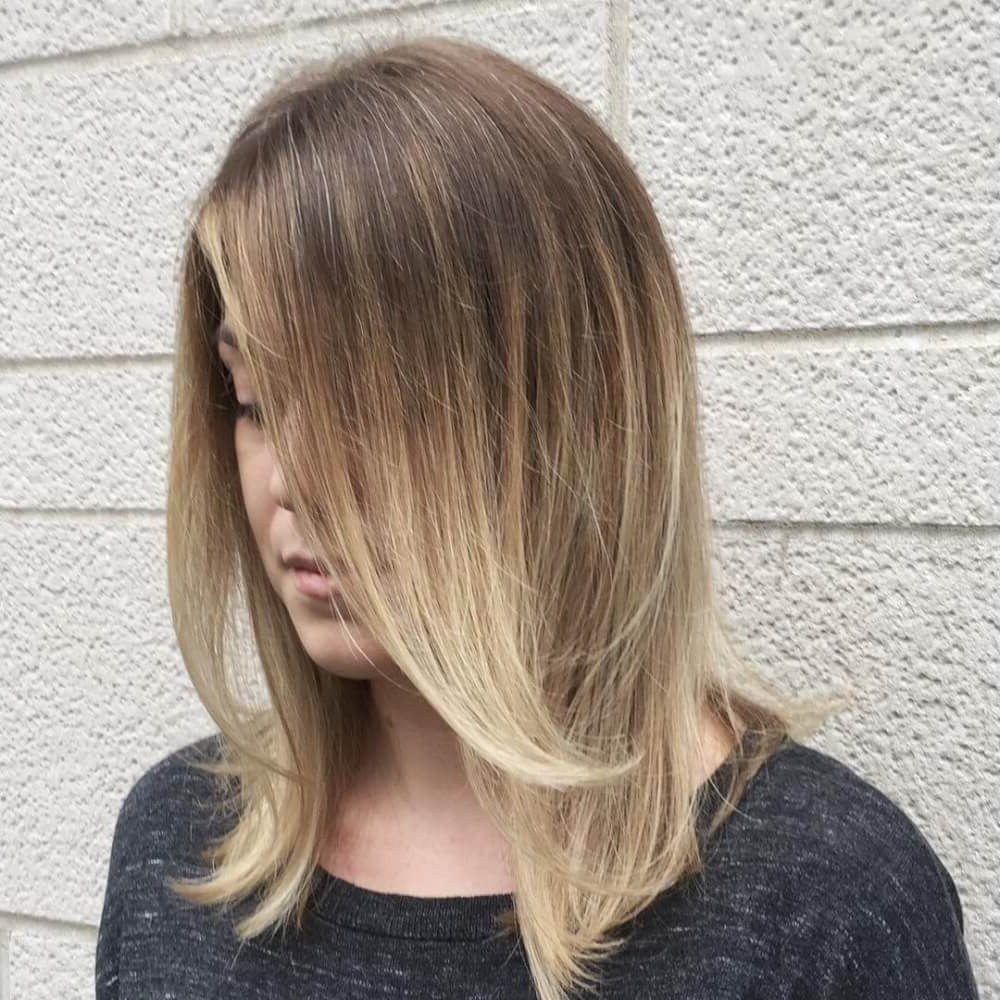 51 Stunning Medium Layered Haircuts (Updated For 2018) With V Shaped Layered Short Haircuts (View 24 of 25)