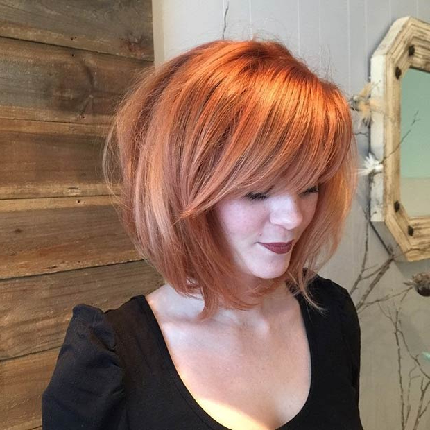 51 Trendy Bob Haircuts To Inspire Your Next Cut   Stayglam Regarding Sleek Rounded Inverted Bob Hairstyles (View 15 of 25)