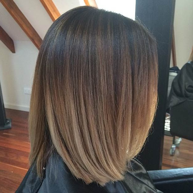 51 Trendy Bob Haircuts To Inspire Your Next Cut   Subtle Highlights Regarding Straight Cut Bob Hairstyles With Layers And Subtle Highlights (View 16 of 25)