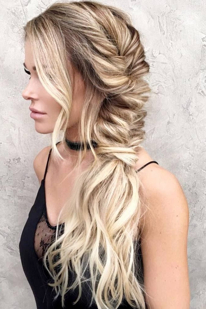 54 Best Bohemian Hairstyles That Turn Heads | Tresses | Pinterest With Fabulous Fishtail Side Pony Hairstyles (View 17 of 25)