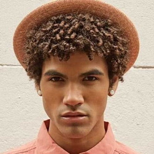 55 Awesome Hairstyles For Black Men – Men Hairstyles World Pertaining To Sculpted And Constructed Black Ponytail Hairstyles (View 24 of 25)