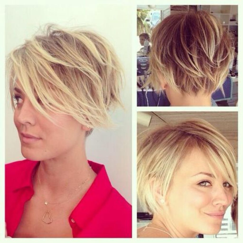 55 Back Views Of Short Hairstyles Lovely Kaley Cuoco Short Hair With Kaley Cuoco Short Hairstyles (View 8 of 25)