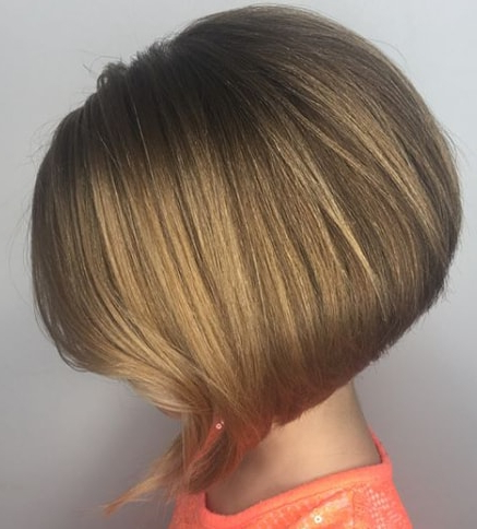 55 Cute Bob Haircuts For Kids – Mrkidshaircuts In Angled Bob Hairstyles (View 20 of 25)