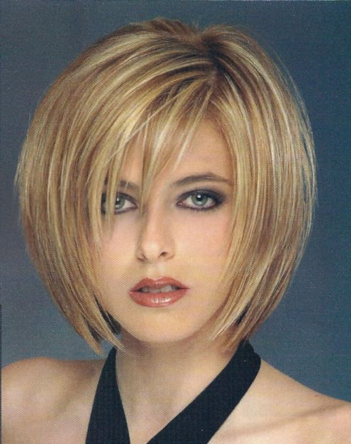 55 Cute Bob Hairstyles For 2017: Find Your Look Intended For Rounded Tapered Bob Hairstyles With Shorter Layers (View 22 of 25)