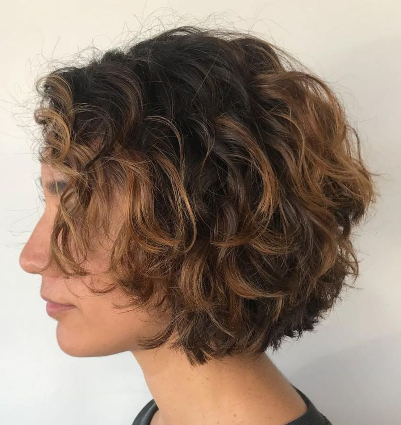 55 Different Versions Of Curly Bob Hairstyle In 2018 | Hair With Regard To Stacked Curly Bob Hairstyles (View 19 of 25)