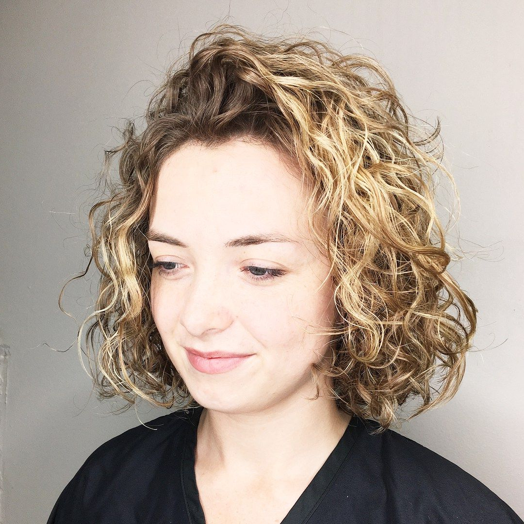 55 Different Versions Of Curly Bob Hairstyle | Style | Pinterest Pertaining To Golden Brown Thick Curly Bob Hairstyles (View 21 of 25)