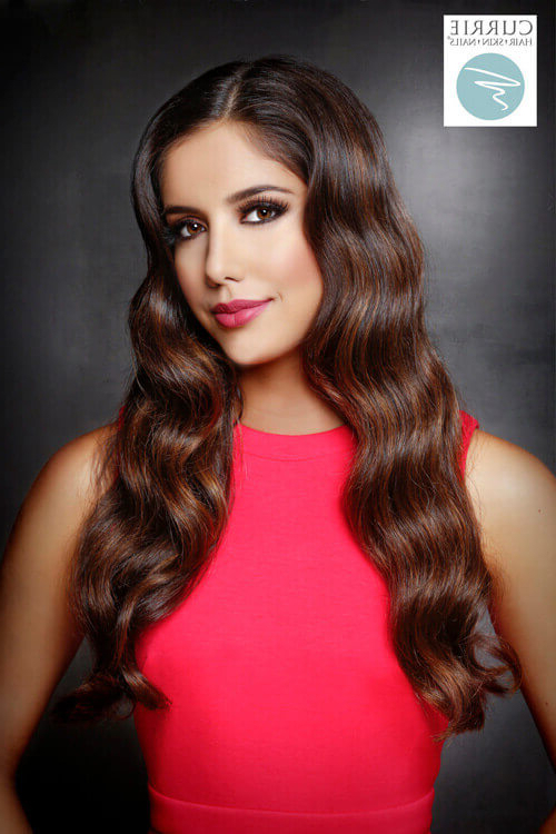 55 Perfect Hairstyles For Thick Hair (Popular For 2018) With Regard To Pretty And Sleek Hairstyles For Thick Hair (View 14 of 25)