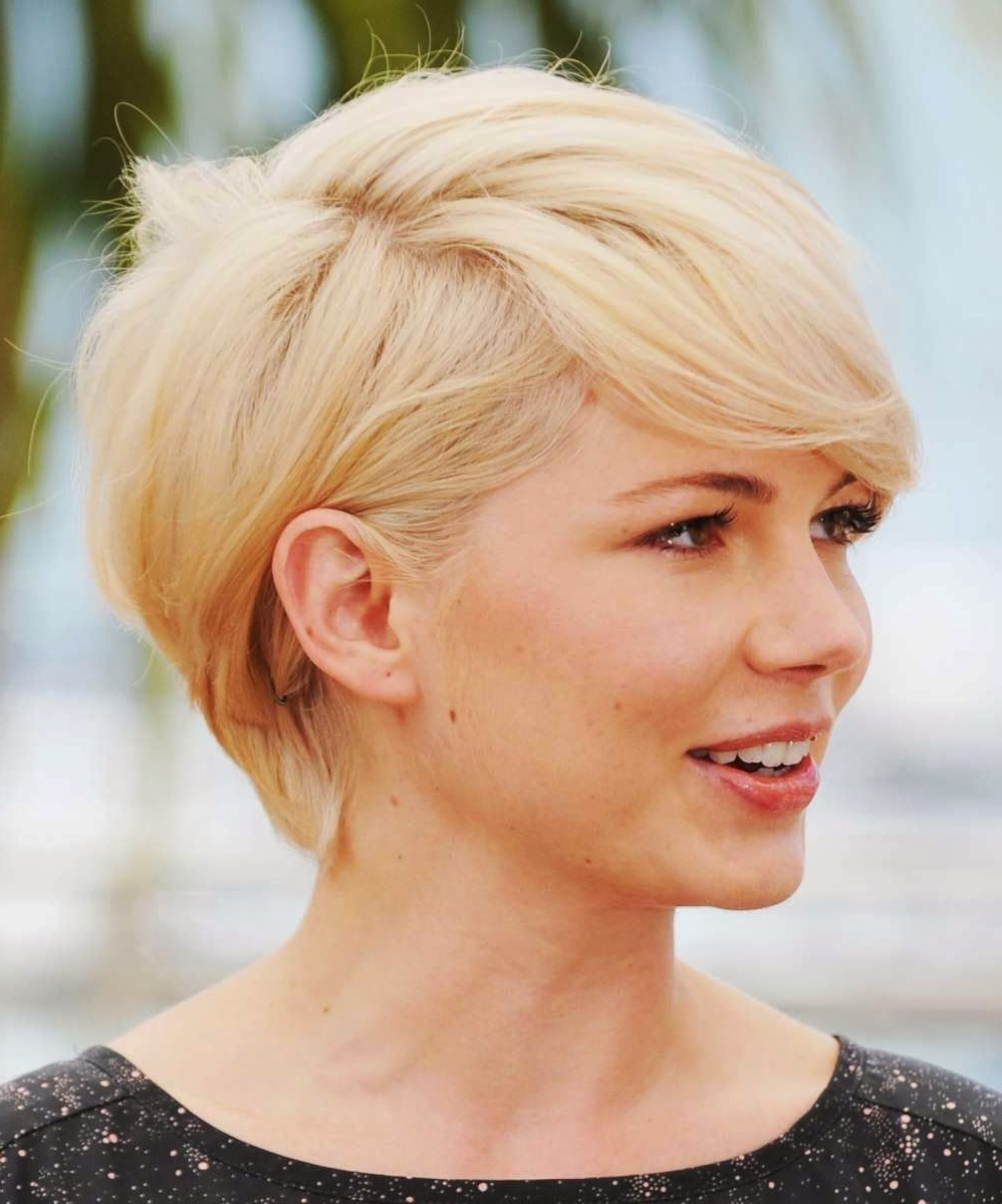 55 Short Hairstyles For Square Faces And Thick Hair Elegant With Short Hairstyles For Square Faces And Thick Hair (View 13 of 25)