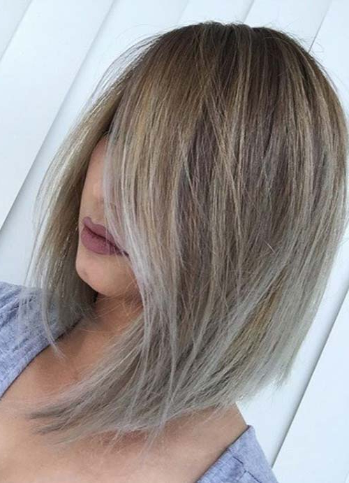 55 Short Hairstyles For Women With Thin Hair | Fashionisers Throughout White Blonde Bob Haircuts For Fine Hair (View 12 of 25)