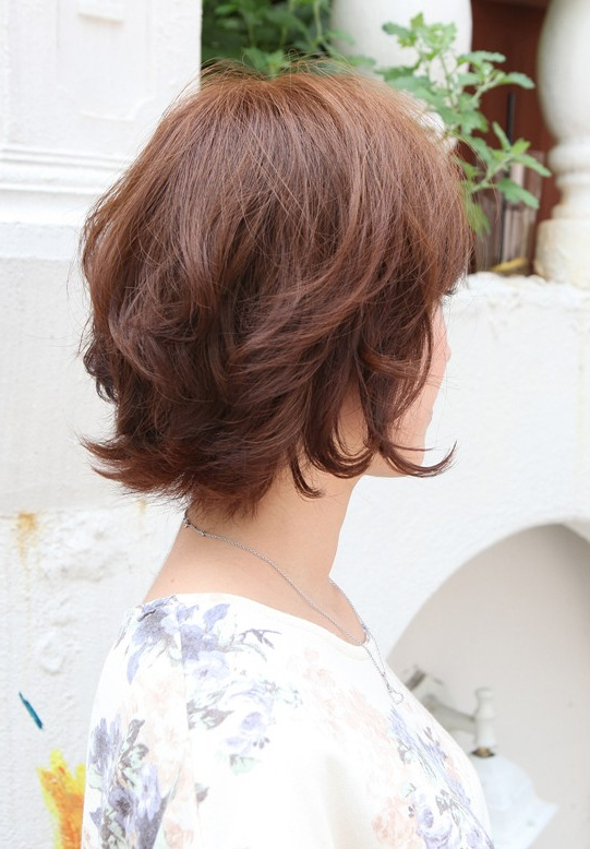 55 Super Hot Short Hairstyles 2017 – Layers, Cool Colors, Curls, Bangs With Short Wavy Haircuts With Messy Layers (View 14 of 25)