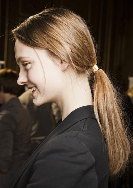 6 Sexy Ponytail Styles Within Sleek Ladylike Ponytail Hairstyles (View 15 of 25)