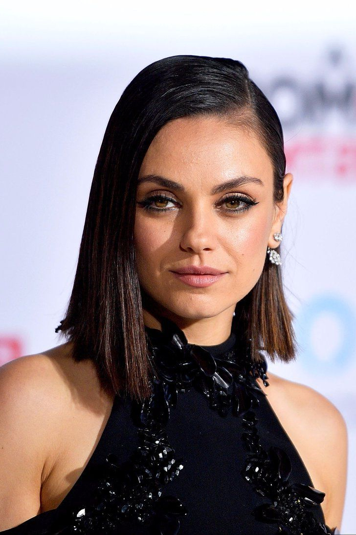 6 Times Mila Kunis Deserved A Mother Of The Year Award In 2017 Pertaining To Mila Kunis Short Hairstyles (Gallery 20 of 25)