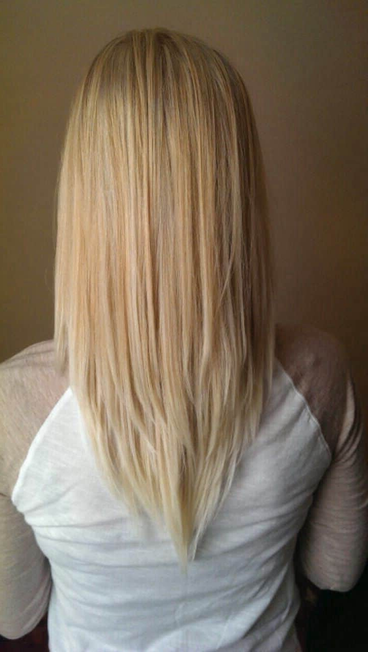 6 Unbeatable 'v' Shape Haircuts For Women [2018] With V Shaped Layered Short Haircuts (Gallery 2 of 25)