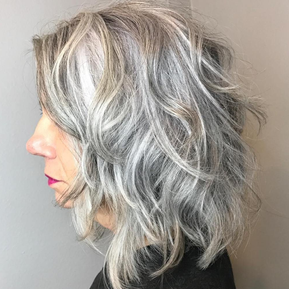 60 Best Hairstyles And Haircuts For Women Over 60 To Suit Any Taste Inside Curly Grayhairstyles (Gallery 14 of 25)