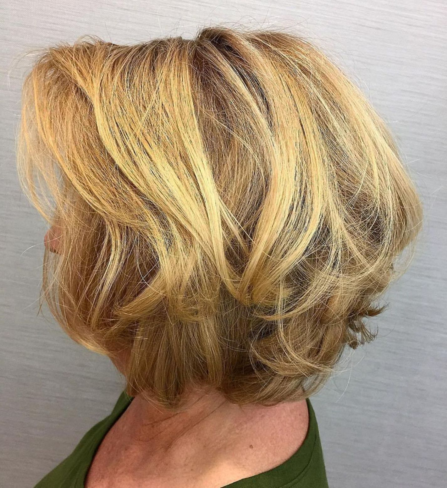 60 Best Hairstyles And Haircuts For Women Over 60 To Suit Any Taste Intended For Disheveled Burgundy Brown Bob Hairstyles (Gallery 7 of 25)