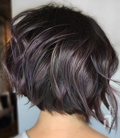 60 Best Short Bob Haircuts And Hairstyles For Women | Pinterest Regarding Disheveled Brunette Choppy Bob Hairstyles (Gallery 10 of 25)
