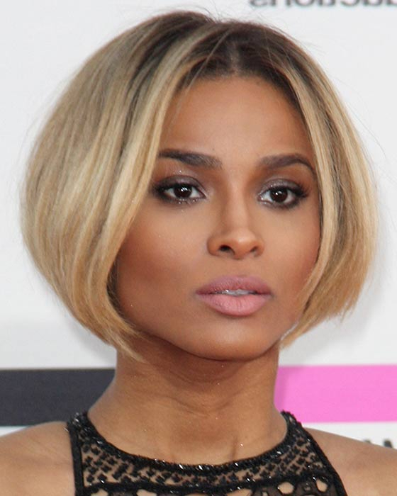 60 Bob Haircuts For Black Women For Caramel Blonde Rounded Layered Bob Hairstyles (Gallery 24 of 25)