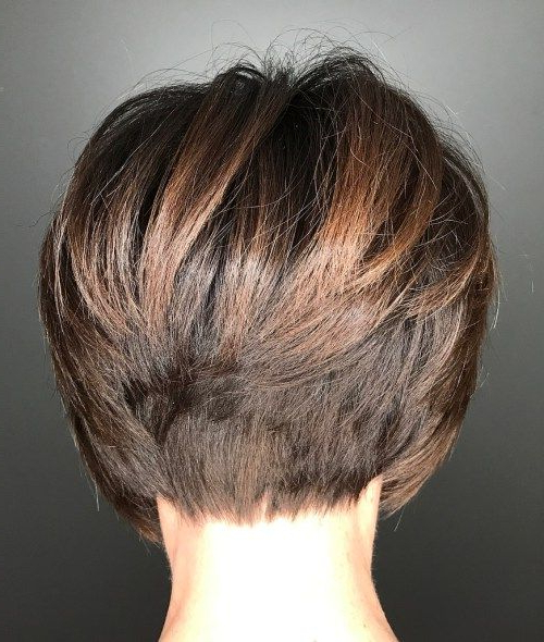 60 Classy Short Haircuts And Hairstyles For Thick Hair | Bobs Pertaining To Short Stacked Bob Hairstyles With Subtle Balayage (Gallery 1 of 25)