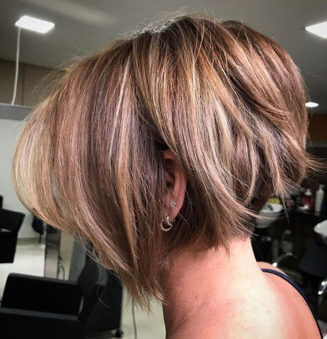 60 Classy Short Haircuts And Hairstyles For Thick Hair In 2018 | My Within Undercut Bob Hairstyles With Jagged Ends (View 2 of 25)