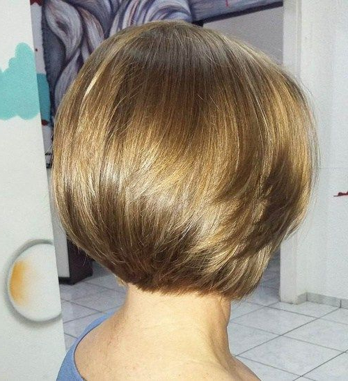 60 Classy Short Haircuts And Hairstyles For Thick Hair   Layered Bob With Regard To Layered Bob Hairstyles For Thick Hair (Gallery 2 of 25)
