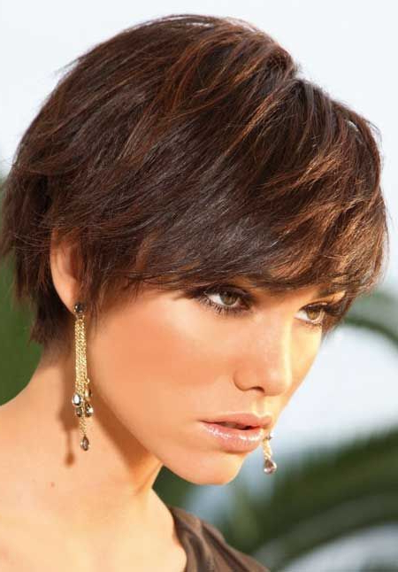 60 Classy Short Haircuts And Hairstyles For Thick Hair | Womens In Sleeked Down Pixie Hairstyles With Texturizing (Gallery 1 of 25)