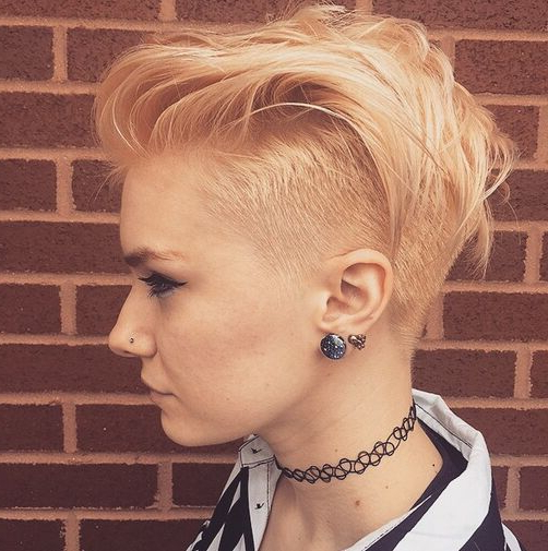 60 Cool Short Hairstyles & New Short Hair Trends! Women Haircuts 2017 In Edgy Pixie Haircuts For Fine Hair (Gallery 18 of 25)