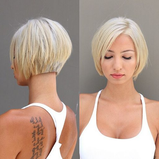 60 Cool Short Hairstyles & New Short Hair Trends! Women Haircuts 2017 In Short Sassy Bob Haircuts (Gallery 13 of 25)