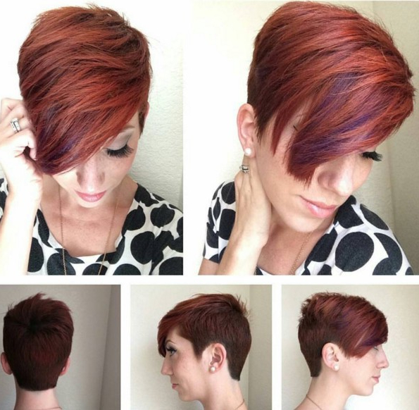 60 Cool Short Hairstyles & New Short Hair Trends! Women Haircuts 2017 Inside Pixie Short Bob Haircuts (View 19 of 25)