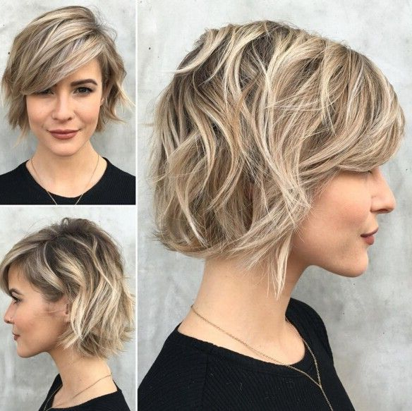 60 Cool Short Hairstyles & New Short Hair Trends! Women Haircuts With Regard To Short Wavy Haircuts With Messy Layers (View 16 of 25)