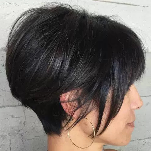 60 Cute Short Hairstyles For Thick Hair – Page 11 Of 60 – Fallbrook247 Pertaining To Cute Shaped Crop Hairstyles (Gallery 25 of 25)