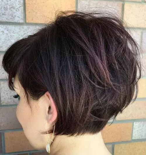 60 Cute Short Hairstyles For Thick Hair – Page 12 Of 60 – Fallbrook247 Regarding Stylish Grown Out Pixie Hairstyles (View 22 of 25)