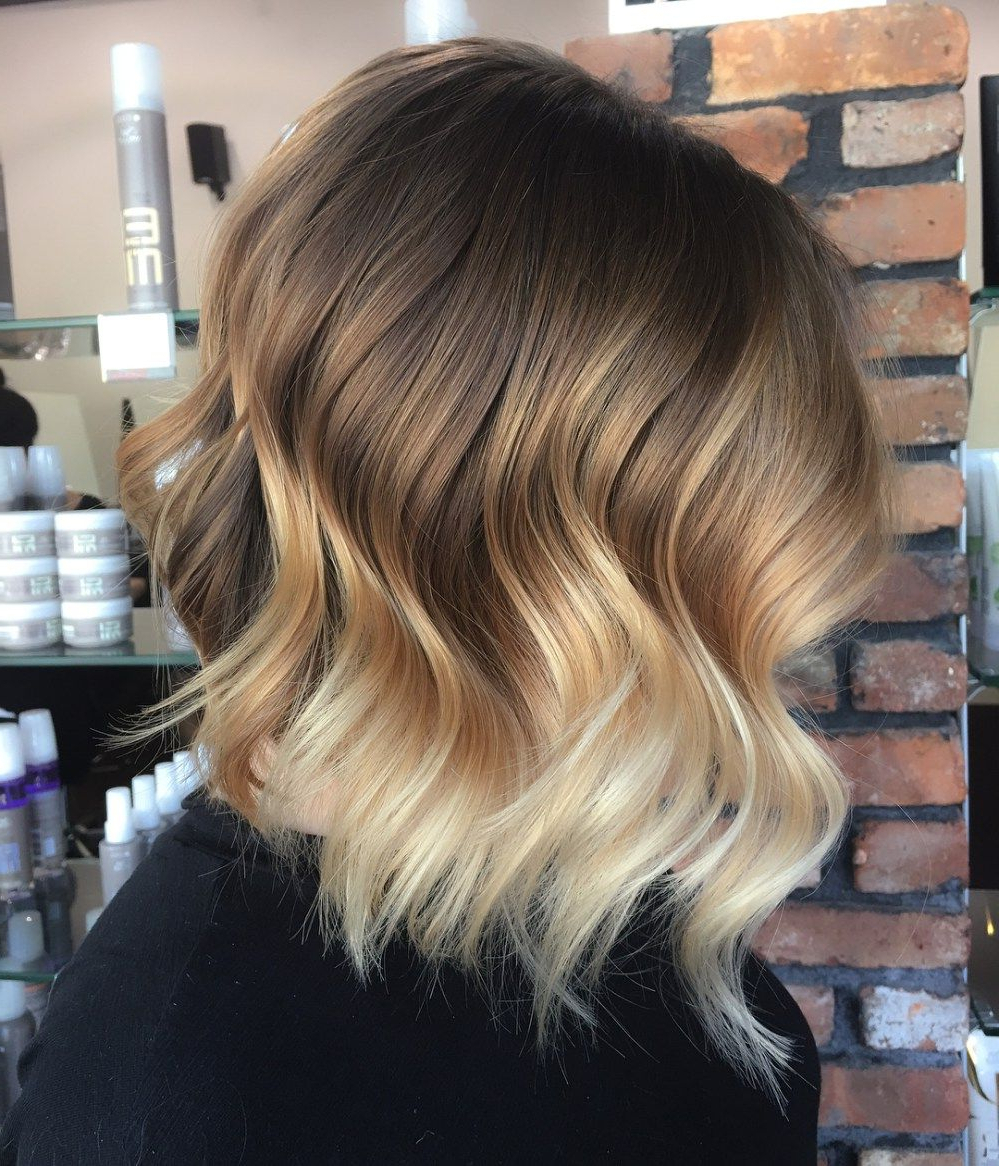 60 Fun And Flattering Medium Hairstyles For Women | Hip Hair Regarding Curly Dark Brown Bob Hairstyles With Partial Balayage (Gallery 14 of 25)