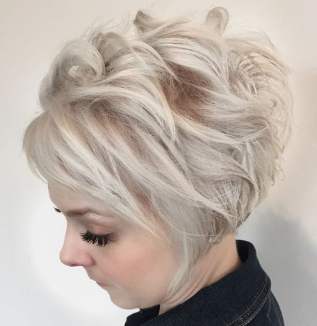 60 Gorgeous Long Pixie Hairstyles   U?esy   Pinterest   Pixie Inside Long Messy Ash Blonde Pixie Haircuts (Gallery 5 of 25)