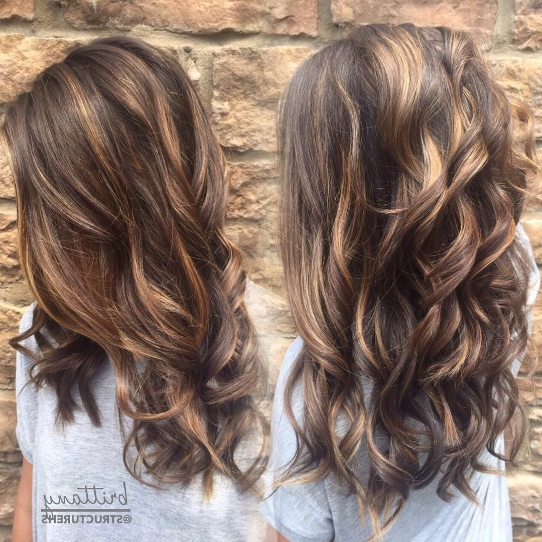 60 Hottest Balayage Hair Color Ideas 2018 – Balayage Hairstyles For With Regard To Soft Brown And Caramel Wavy Bob Hairstyles (Gallery 22 of 25)