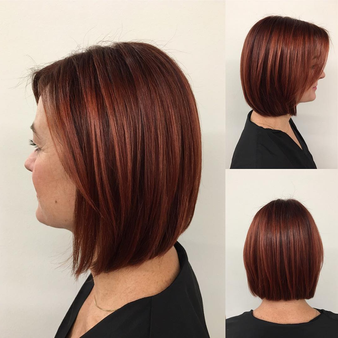 60 Hottest Bob Hairstyles For Everyone! (Short Bobs, Mobs, Lobs Inside Nape Length Curly Balayage Bob Hairstyles (Gallery 24 of 25)