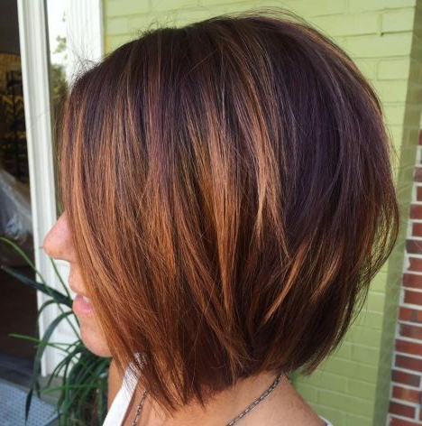 60 Layered Bob Styles: Modern Haircuts With Layers For Any In Dynamic Tousled Blonde Bob Hairstyles With Dark Underlayer (Gallery 25 of 25)