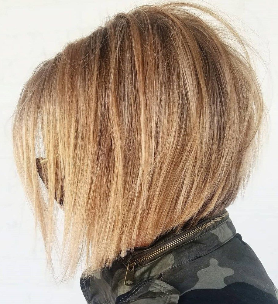 60 Layered Bob Styles: Modern Haircuts With Layers For Any Occasion With Regard To Disheveled Burgundy Brown Bob Hairstyles (Gallery 8 of 25)