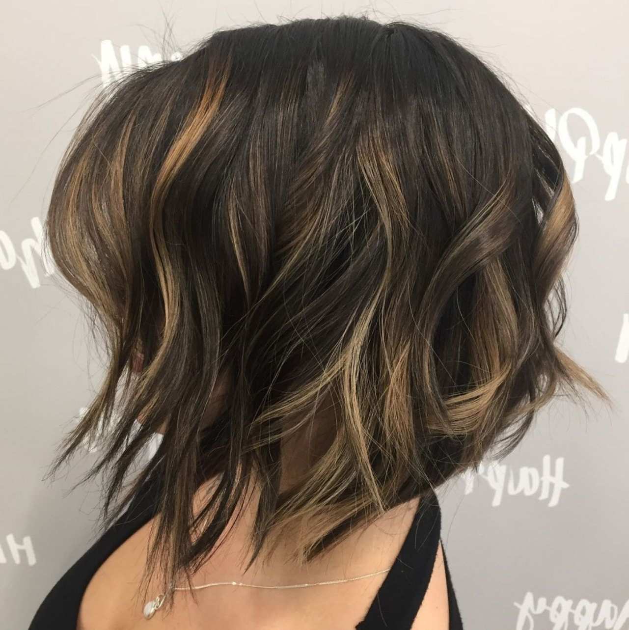 60 Messy Bob Hairstyles For Your Trendy Casual Looks   Hair Pertaining To Angled Brunette Bob Hairstyles With Messy Curls (View 9 of 25)