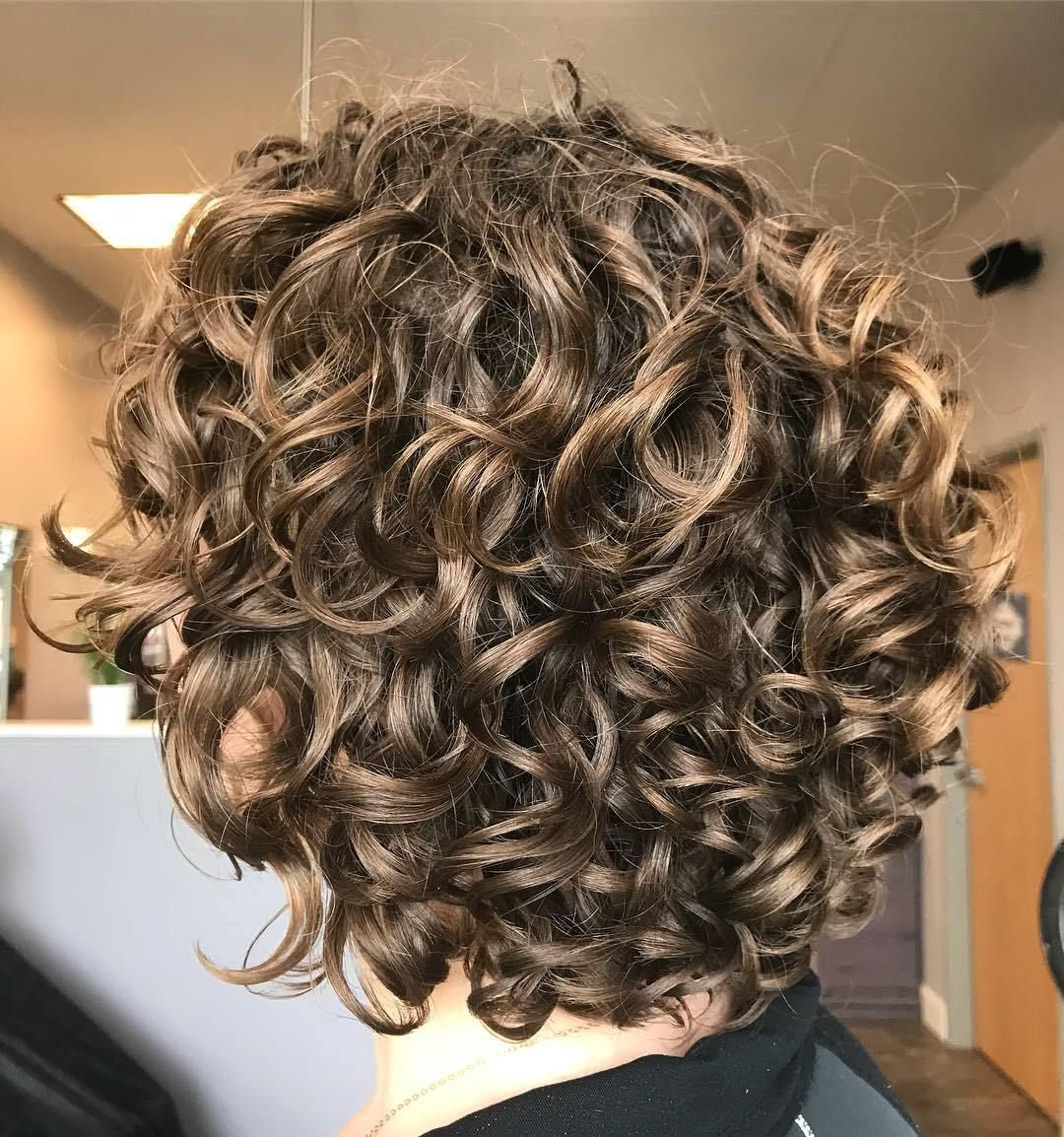 60 Most Delightful Short Wavy Hairstyles In 2018 | Hair, Exercise With Dark Blonde Short Curly Hairstyles (Gallery 4 of 25)