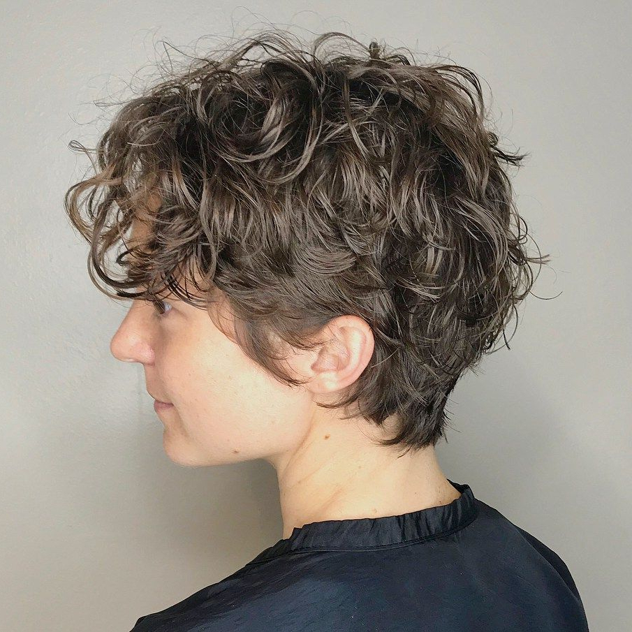 60 Most Delightful Short Wavy Hairstyles In 2018 | Hairstyles Pertaining To Simple Short Hairstyles With Scrunched Curls (Gallery 4 of 25)