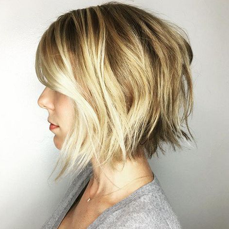 60 Overwhelming Ideas For Short Choppy Haircuts | Hair | Pinterest With Regard To Choppy Wispy Blonde Balayage Bob Hairstyles (Gallery 1 of 25)