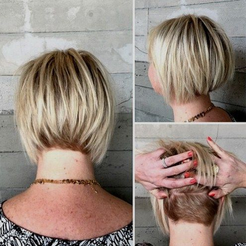 60 Overwhelming Ideas For Short Choppy Haircuts In 2018   Modern Regarding Undercut Bob Hairstyles With Jagged Ends (Gallery 1 of 25)