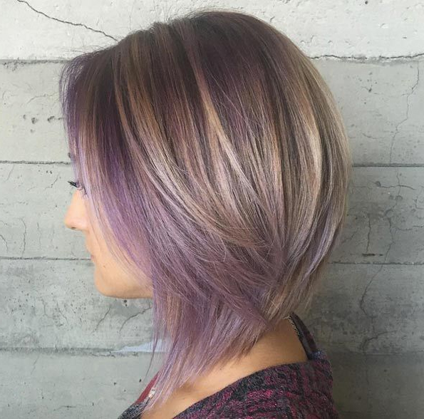 60 Popular Choppy Bob Hairstyles | Beauty Box - Hair | Pinterest in Choppy Brown And Lavender Bob Hairstyles